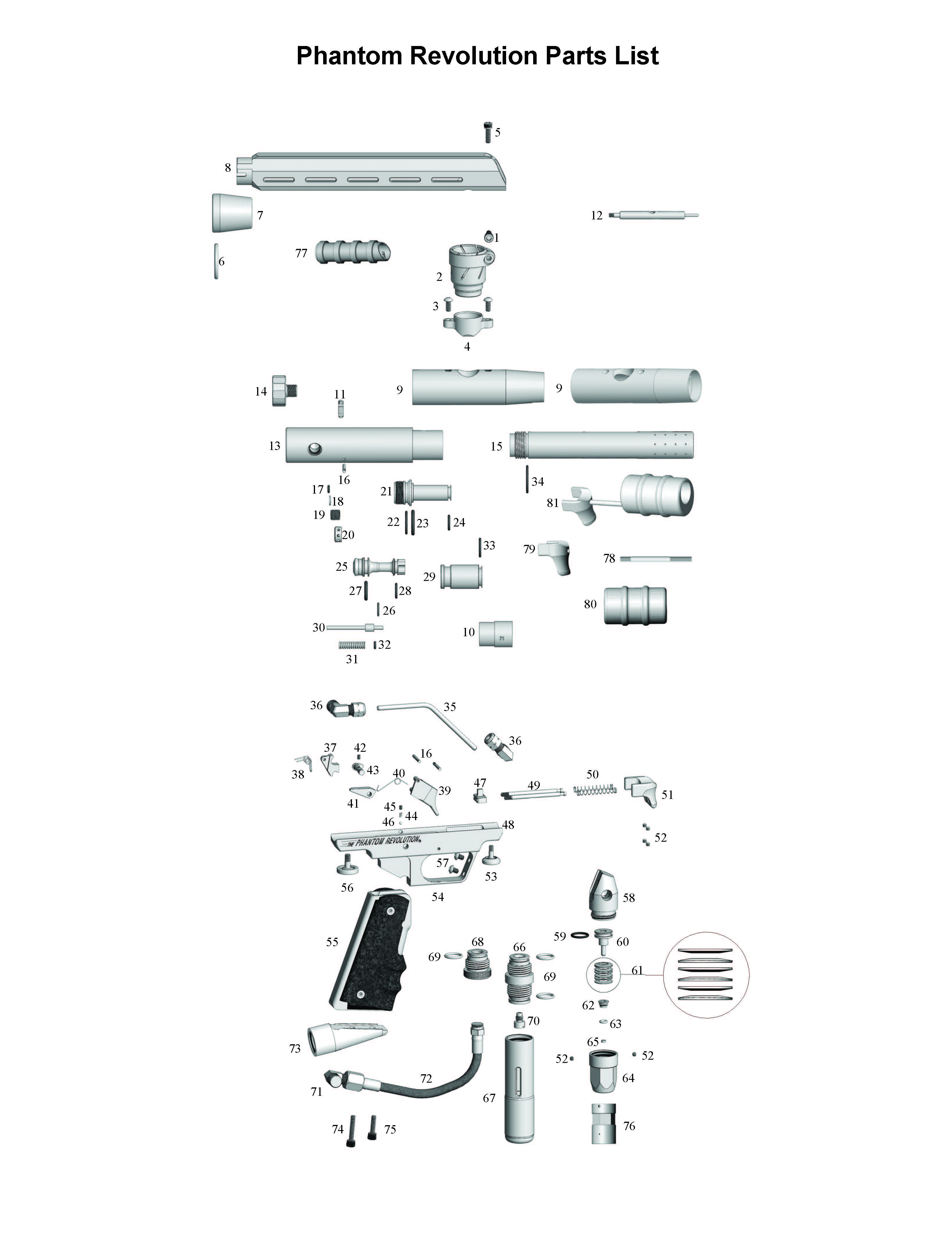 Power Piston, Air